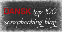 Dansk Top 100 Scrapbooking blog